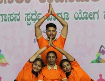 GSS Yoga organizes Cultural events periodically